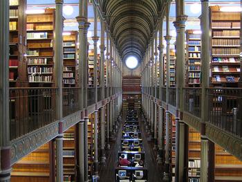 勉強のための専門書が揃っている図書館で勉強したり、本を借りる時間にあててもいいですね。