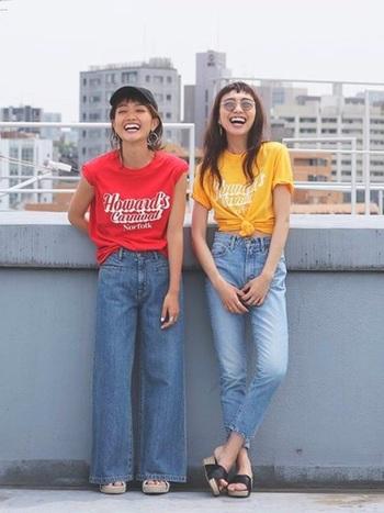 いかがでしたか?色は人の気持ちに大きく影響を与えると言われています。ビタミンカラーの洋服は、見ているだけで元気が出てきますよね。この夏は、ビタミンカラーをファッションに取り入れて、明るく元気に過ごしましょう。