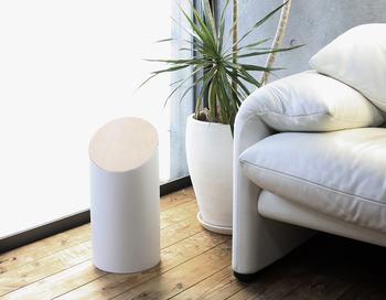 ホワイト/ハードメープルは、シンプルでナチュラルなインテリアに合います。リビングに置いてあるだけで絵になる美しいデザインです。