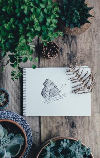好きなことに夢中になる時間も、昼活におすすめ。たとえば昼食後に30分絵を描くとします。集中して取り組めるので1日1日上達していくのがわかります。