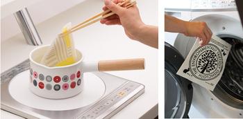おすすめは煮沸消毒。匂いも汚れもすっきりと落ちます。もちろん洗濯機でも洗えるので、こまめに洗濯して衛生的にしておきましょう♪