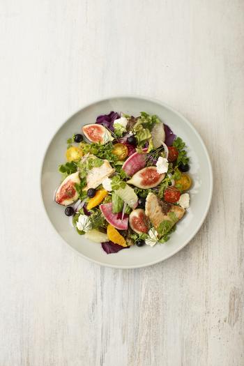 一皿で大満足!おしゃれでヘルシーな「ボリュームサラダ」&「サラダごはん」レシピ14品