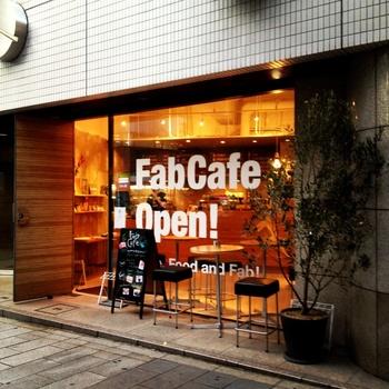 """渋谷にあるおしゃれなカフェ""""FabCafe""""。一見普通のカフェに見えますが、DIYが大好きな人にはちょっと嬉しいカフェなんです。"""
