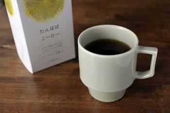 たんぽぽコーヒーも有名ですね。根っこを煎じて飲みます。
