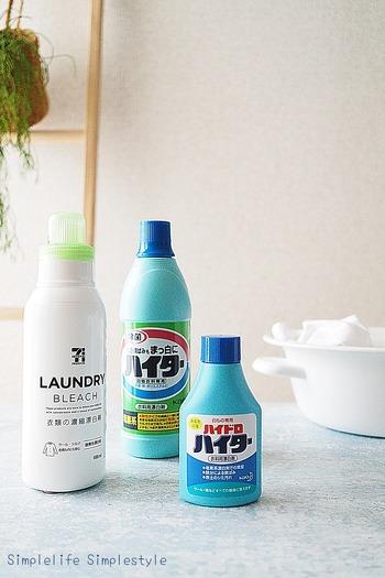 洗剤は洗濯ものの量に見合った量を守るようにしましょう。少なすぎると汚れがきちんと落ちませんし、多すぎるとすすぎが不十分になって洗剤が洗濯ものに残ってしまいます。