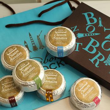 さっくり軽い、新食感。BonbonROCKett(ボンボンロケット)のバターサンド