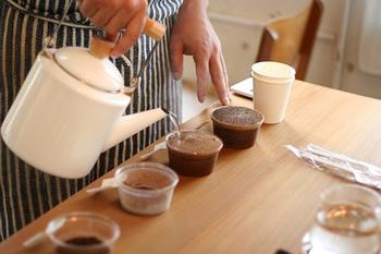 コーヒーロースターさんと一緒になってオリジナルコーヒーを開発したそうです!