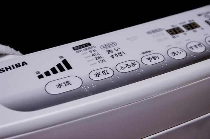 洗濯機によっても容量は違いますが、洗濯機の大きさの8割程度まで入れるのがきれいにお洗濯できる量です。ぎゅうぎゅう押せば入るからといって詰め込んでしまうと、汚れ落ちが悪かったり、洗剤が残ったりする原因となります。