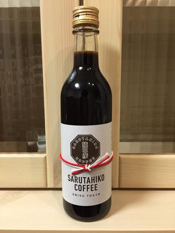 お土産にしても喜ばれる一押し商品をご紹介♪その名も「猿田彦のカフェオレのもと」。  の元がこちら。アイスはコーヒーよりもカフェオレ派という方は、自宅で贅沢な味わいが楽しめますよ!