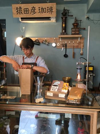 ちなみに、猿田彦珈琲 恵比寿本店のすくそばにある別館では、持ち帰り用にコーヒー豆を販売しています。季節限定ブレンドもあり、こちらも見逃せません。