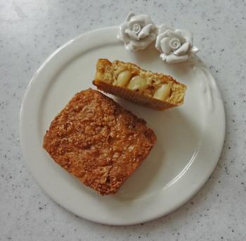 『松の実クッキー』も中身はぎっしり!手ごろな大きさの中に満足がいっぱい詰まっています♪パッケージ人気さながら、お菓子の味も一級品です♡