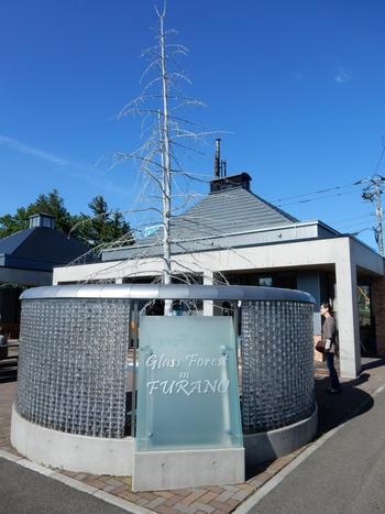 「Glass Forest in FURANO(ふらの硝子)」の施設内には1号館から7号館まで店舗があり、それぞれのコンセプトのもと硝子製品が展示、販売されています。北海道で唯一の耐熱ガラスの吹きガラス体験をはじめ、体験プログラムも豊富にあります。