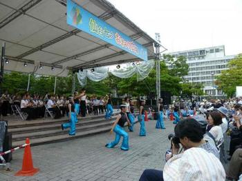 伝統、歴史など多彩なステージイベントが一日を通して開催されているイベントスペースもあり、こちらも大人気。