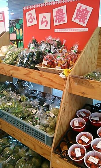 富良野産の野菜なども販売されており、直送便も利用できます。