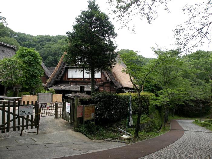 こちらの山下家住宅は食事処となっていて、美味しいおそばを食べることができます。
