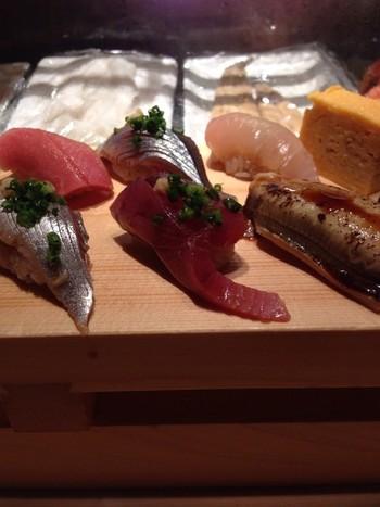 ■寿司エリア いい寿司職人が、いい仕事をしています。