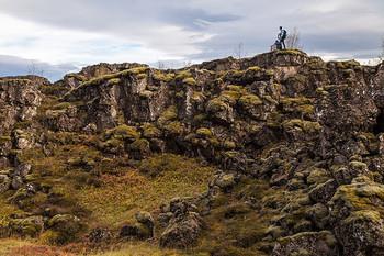 他にも、この公園には多くの魅力があります。  例えばこの光景。 アイスランドにいると必ずみる、ふわふわのコケが岩にまとわりついています。  ここににきたら、いえ、アイスランドを訪れたらぜひコケの上を歩いてみてください。 筆者も現地を訪れた時に歩いてみましたが、あまりのふかふかさに驚きました。