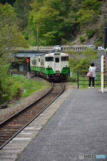 福島県会津若松駅と新潟県小出駅を結ぶ只見線沿線の無人駅です。