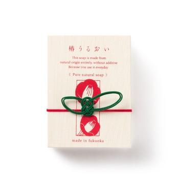 パッケージには八女和紙や博多水引を用いたご当地感がギュッと詰まったお土産です。