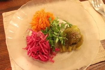 こちらは「鎌倉野菜のマリネ」。この他にも鎌倉野菜を使った料理を色々楽しむことができます。