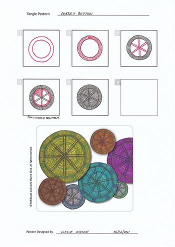 《作り方》 ①とじ針に糸を通し、リングパーツ全体にくるくると糸を巻きつけます。 ②リングの内側(糸の隙間)から、対角線上に糸を渡してベースを作ります。 ③ベースに、織物のように糸を通したり、玉どめなど…色々な技法で装飾していきます。  ※こちらはイメージ画像です。