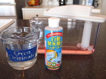 これからの季節に大活躍の自動製氷機も、体に安全なクリーニング方法で清潔を保ちたいですよね。こちらのブロガーさんのお宅では、ナチュラル成分のオーガニック洗剤を使用しているそうです。クエン酸と梅果汁抽出液から作られていて、合成界面活性剤は不使用。体に優しい成分で作られた洗剤なら、いつも安心して使えそうですね♪