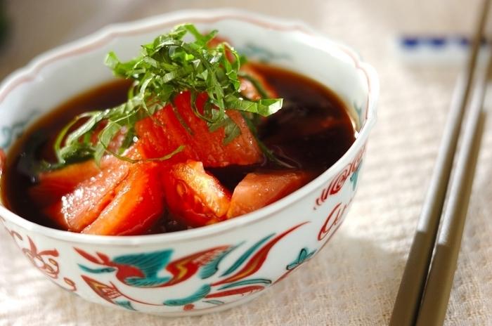 どんな食材とも相性抜群、大活躍のポン酢は手作りが美味しい!かぼす果汁が爽やかなアクセントに。かつお出汁は、お湯にかつおを入れるだけで簡単に取るので時間も場所も取りません。