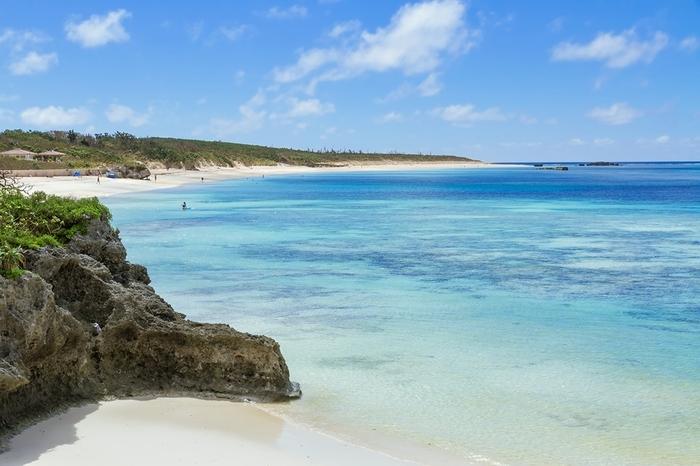 沖縄県八重山諸島にある「波照間島(はてるまじま)」は、日本最南端に位置する離島。時期によっては、南十字星も観測できる場所です。