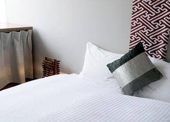 お部屋は様々なタイプが用意されており、女性の一人旅、グループや家族の旅等、ニーズに合わせて選べます。