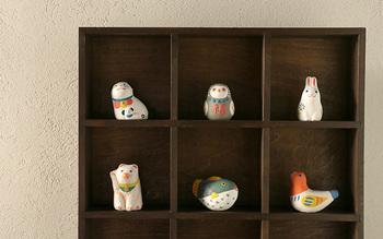 ちょこんとした佇まいが可愛らしい♪新しい日本の縁起もの「めでた玩具」