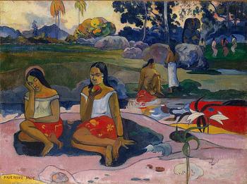 タヒチの魅力の虜になった画家といえば、「ポール・ゴーギャン」。タヒチの女性や自然をいきいきと描いた、たくさんの作品を残し、フランス領ポリネシアのマルケサス諸島で亡くなりました。  他に「マティス」もタヒチを訪れ、ゴーギャンとは異なるアプローチからタヒチを描いています。