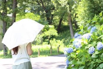 夏の日焼け予防コーデは、かしこくおしゃれに私らしく。