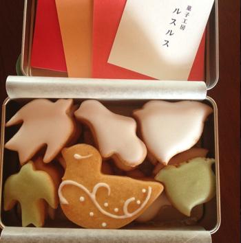 可愛らしいアイシングを施したクッキーはお土産にもオススメ!大切な人へのお土産に、こんなお菓子があれば会えなかった時間なんてすぐに埋まってしまうでしょう。