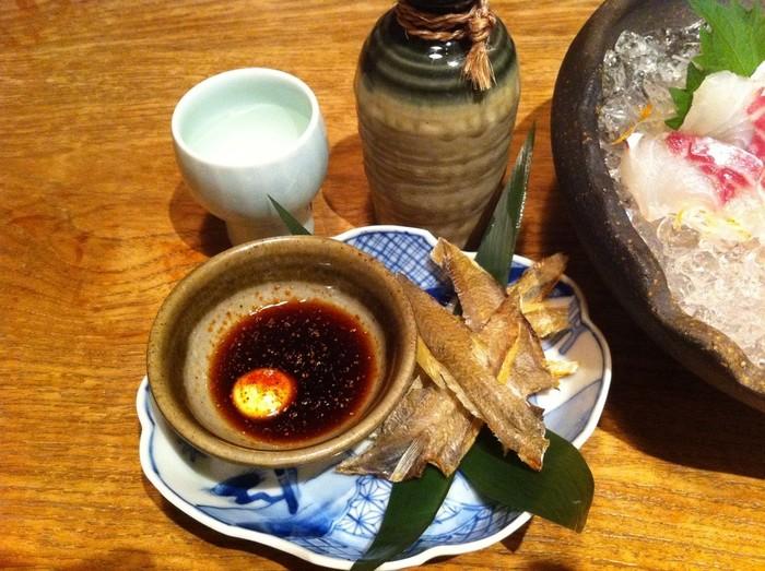 尾道を代表する魚・ガンゾウヒラメの干物「でべら」の炙りも美味しかったですよ。 尾道でしか食べられないであろう珍味ですので、この機会にぜひ。