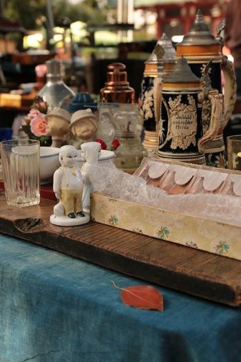 陶器やガラス製品は懐かしさと目新しさの両方を感じさせますね。自分の好みにぴったりくる物に出会えそうです。