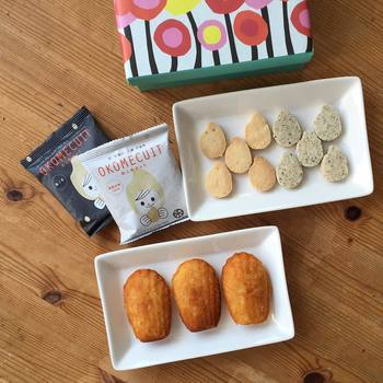 作られるお菓子は、どれもほっとするような家庭的な味が特徴。お家で作る手作りのお菓子が理想となっています。
