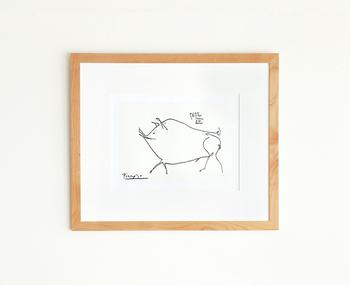 誰もが知る芸術家、パブロ・ピカソのアートポスター。