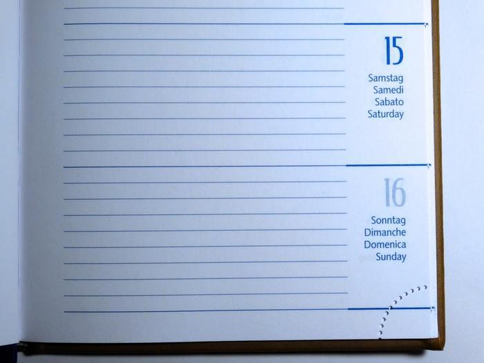 いくつかのタイプが混じった手帳なら、マンスリー部分にはプライベート、ウィークリー部分には仕事など、1冊すべてプライベート手帳にできるならウィークリー部分を日記のように使っても良いですね。 仕事用かプライベート用かなど比重を置きたい用途ごとに、手帳を選ぶと自分にぴったりの使いやすい手帳に巡り合えますよ。