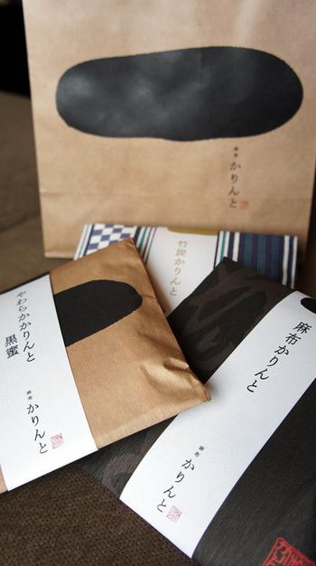 贈り物にはパッケージのセンスも大切。味ごとに和柄のパッケージが異なるので、つい色々な種類を買い揃えてしまいたくなりそう。