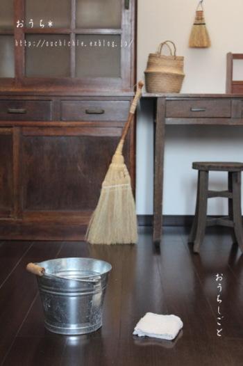 お掃除はこまめにやれば、汚れがたまることなく、気持ちも前向きになれますよね*お気に入りの道具を持って、お掃除が好きになる工夫をしてみましょう◎