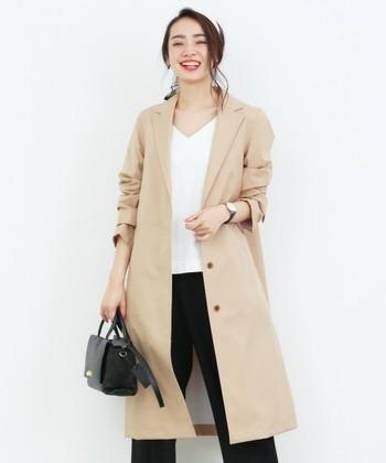 実用性を重視しファッション性に乏しかったレインコートがファッショナブルなレインアウターに。