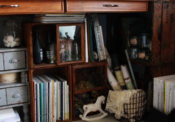 落ち着いた感じのするヴィンテージテイストのお部屋は、木のぬくもりやノスタルジーが感じられたりと憧れる方も多いのではないでしょうか。