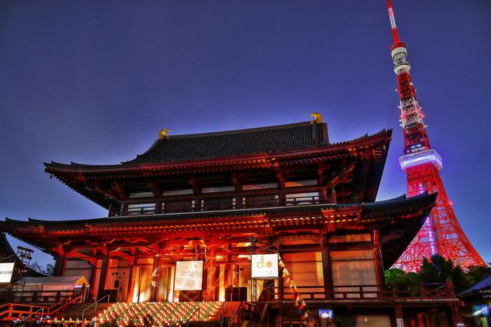 増上寺まで歩いてみるのもいいですね