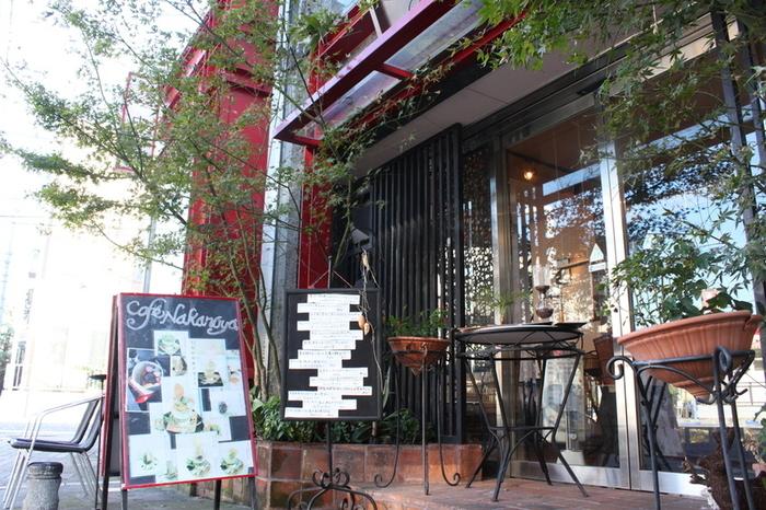 遠方からのお客さんもいるという、大人気のお店「カフェ中野屋」。町田駅から徒歩4分のところにあります。