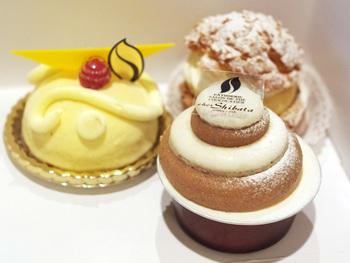 柴田武氏がオーナーの洋菓子店「シェシバタ」。見ているだけで幸せいっぱいになる洋菓子は、こだわりの素材で作られ、繊細なハーモニーが広がり幸せな気持ちになる美味しさ。自分用のお土産に、ぜひ買って帰りたい一品です。