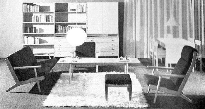 不動の人気を誇っている北欧スタイルですが、そのベースは「スカンジナビアンモダン」。20世紀初頭に生まれた家具の装飾様式で、「北欧モダン」とも呼ばれています。  シンプルで洗練されたデザインに自然のモチーフや遊び心を加えたデザインが特徴的で、日本の住宅との相性もいいため、家具やインテリアコーディネートに盛んに取り入れられるようになりました。  アルネ・ヤコブセンやハンス・ウェグナーなどの家具が代表的です。