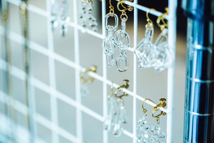 「minne」内でも人気のガラスのアクセサリー