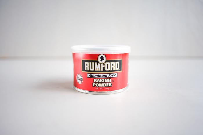 アルミフリーのベーキングパウダーはお菓子作りには欠かせない調味料。ラムフォード社は150年の歴史ある会社です。