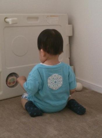 ザバザバ洗濯してもへたらないので、遊び盛りのお子さんにぴったり。可愛いですね。着心地もとてもいいようですよ。