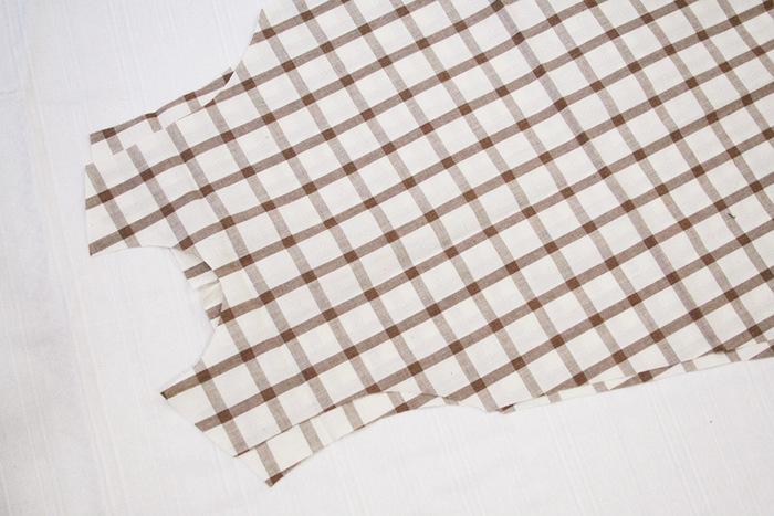 可愛らしいAラインのワンピースの作り方です。お好きな生地を準備して、型紙に添って裁断したらあとは縫うだけ♪